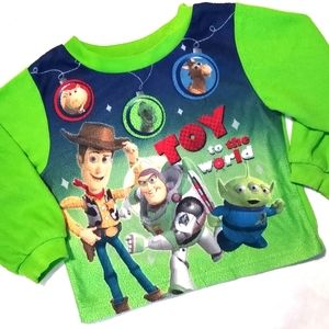 Disney Pixar Toy Story 3 Fleece Pajama Shirt 24M